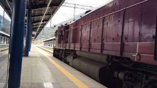 팔도장터4411서울발 마산행 열차창원중앙역발차
