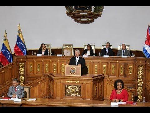 Discurso del Presidente de Cuba, Miguel Díaz-Canel, en la ANC de Venezuela