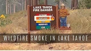 Wildfire Smoke in Lake Tahoe