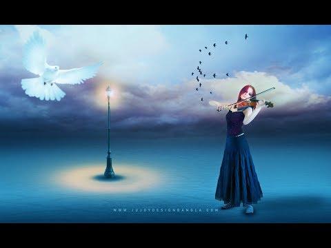 Photoshop | Alone girl Photo Manipulation in Adobe Photoshop
