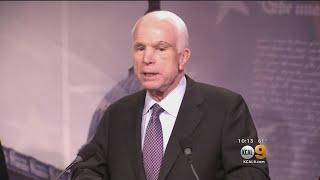 President Trump Attacks McCain Over Decision To Vote No On Republican Healthcare Bill
