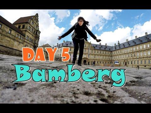 เที่ยวยุโรป SS1 Day 5 ; เที่ยวแบมเบิร์ก New Residence Bamberg , Seehof Palace , Michaelsberg Abbey