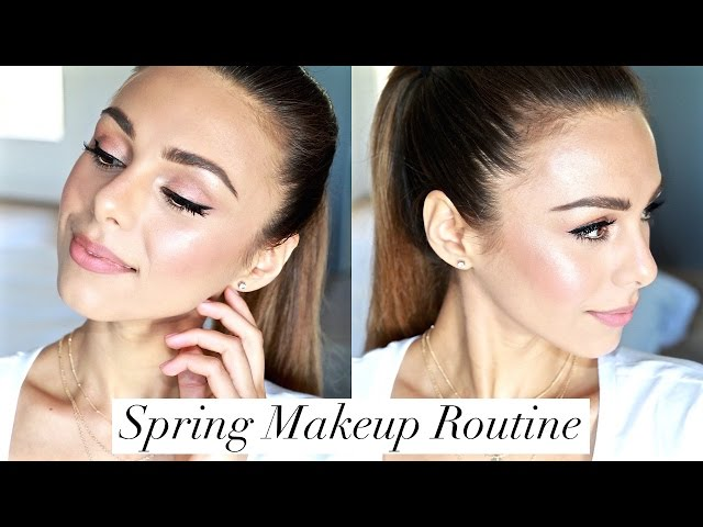 Fresh Spring Face   MY EVERYDAY MAKEUP ROUTINE   Annie