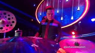 Echa Soemantri - Abdul - Kiss Me (Sixpence None The Richer) Indonesian Idol 2018 - #ESdrumcam
