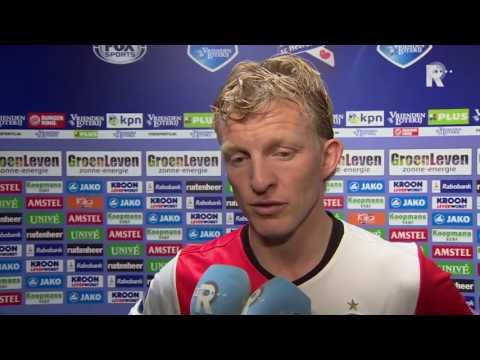 Dirk Kuyt na afloop van Heerenveen - Feyenoord