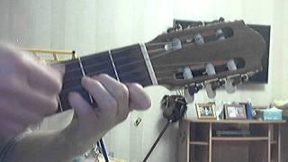 Катюша как играть на гитаре/ Расцветали яблони и груши/ Разбор  на гитаре