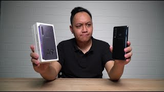 UNBOXING : SAMSUNG A9 2018 BLACK COLOUR ( 128 GB ) INSTAGRAM : http...