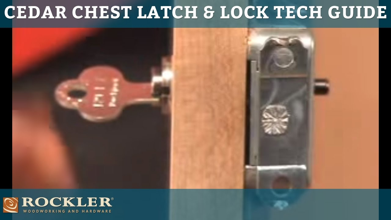 Cedar Chest Latch and Lock Technical Guide  YouTube