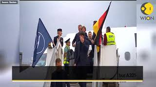 World Cup champions Germany arrive in Moscow