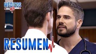 RESUMEN SEMANAL: La rivalidad entre David y Arturo crece | Médicos, línea de vida - Las Estrellas