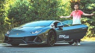 Zostałem szoferem w Lamborghini HURACAN EVO!
