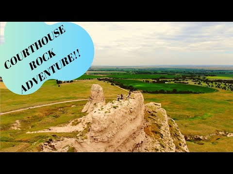 Courthouse Rock Hike and Drone Flight