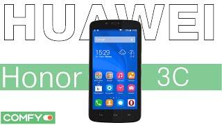 Видеодемонстрация смартфона Huawei Honor 3C от Comfy
