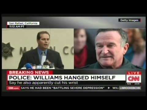Robin Williams Marin County Sheriff Press Conference (August 12, 2014)