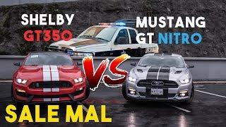SHELBY GT350 VS MUSTANG GT CON NITRO SALE MAL || ALFREDO VALENZUELA