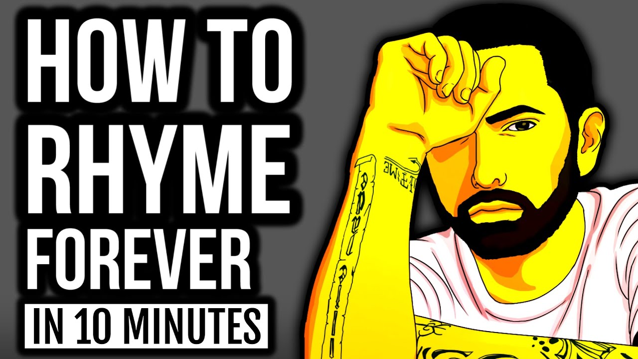 Learn To Rap: Create An INFINITE Number Of RHYMES In Under ...