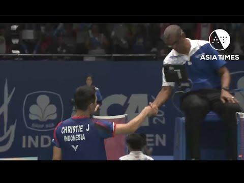 Indonesia's 'rising stars' dominate Korea Badminton Open