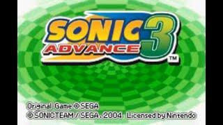 Sonic Advance 3 (GBA) - 100% Complete Longplay [4K, 60 FPS]
