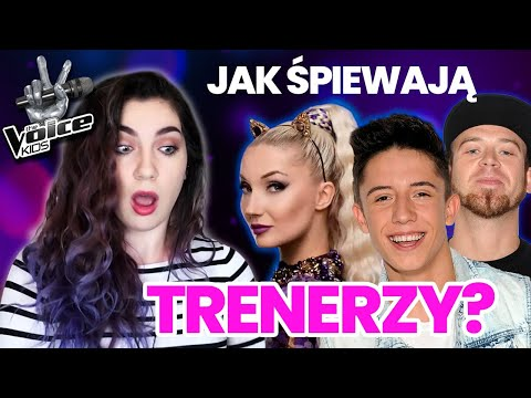 REAKCJA NA TRENERÓW The Voice Kids - All I Want For Christmas Is You