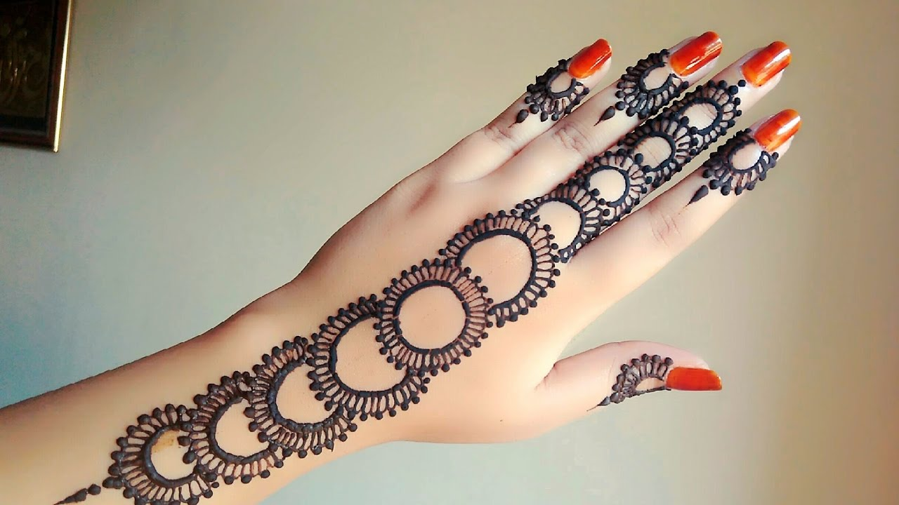 Mehndi Tattoo For Hand : Tattoo mehndi arabic gulf style henna 2017 naush