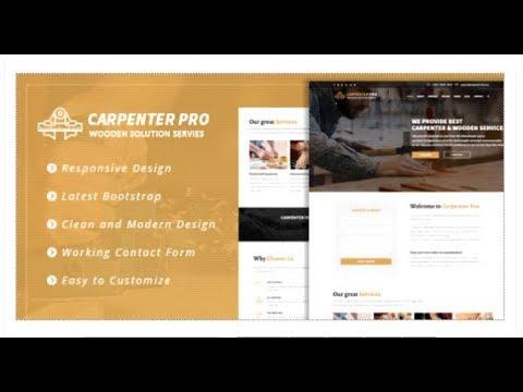 CarpenterPro - HTML for Carpenter & Craftsman | Themeforest Templates