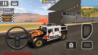 Police Drift Car Driving Simulator #19 - Police HUMMER | 3 Special Edition | Android GamePlay FHD