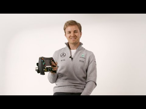 Nico Rosberg: EXPLAINED! F1 steering wheel