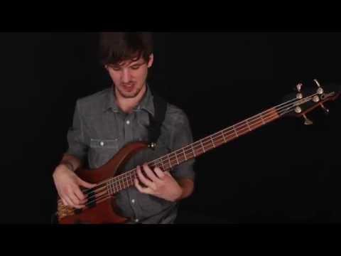 Solo Bass Lesson: Bach Cello Suite 1 Prelude (with tab)