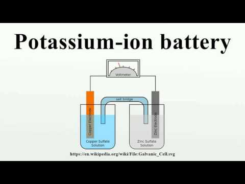 Potassium-ion battery