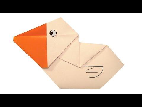 Origami Pelican Youtube