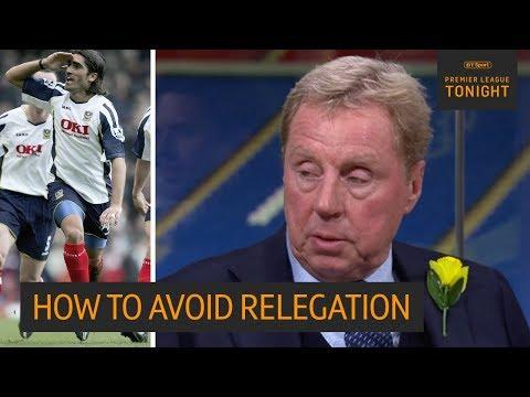 The secret to Premier League survival | Redknapp explains how to avoid the drop
