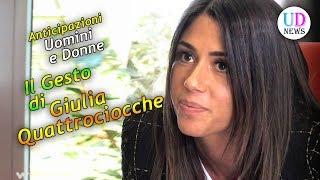 Anticipazioni Uomini e Donne Trono Classico: Il Forte Gesto di Giulia Quattrociocche!