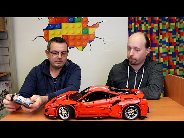 Gästetalk: CaDa C61042W Master Red Super Car 1:8