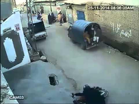 Quetta City a serious terrorist activity caught on a camera