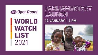 Open Doors World Watch List Launch 2021