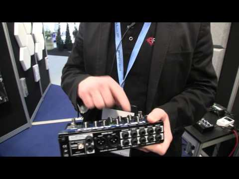 MESSE 2017: Radial Technologies Keylargo Keyboard Mixer and USB Interface