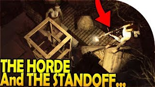 THE HORDE + THE STANDOFF! ( 7 Days to Die Battle Royale Gameplay Part 3 )