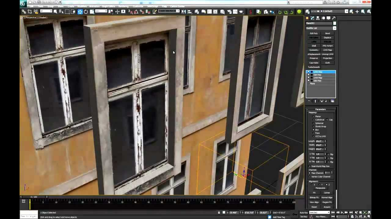 Modelar con texturas realistas 3d max tutorial youtube for Modelar habitacion 3d max