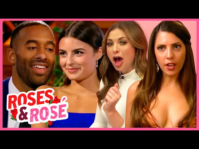 The Bachelor: Roses & Rose: Matt DETHRONES Queen Victoria, Falls For Rachael and Cooks with Kit