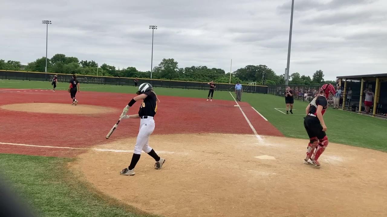 Robbinsville softball celebrates 2021 C.J. Group 2 title