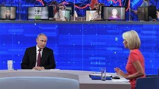Владимир Путин - прямая линия с гражданами России