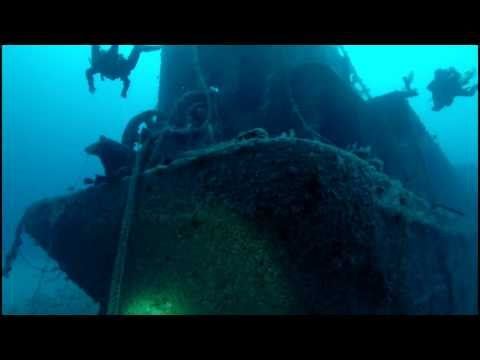 Technical Diving, RBJ and Corey N Chris Wreck. 260 Feet Deep Rebreather Diving. Pompano Beach FL