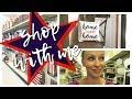 Shop With Me | Hobby Lobby & Walmart