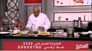 برنامج المطبخ – طريقة عمل الكريم كراميل بالشيكولاتة – الشيف يسرى خميس – Al-matbkh