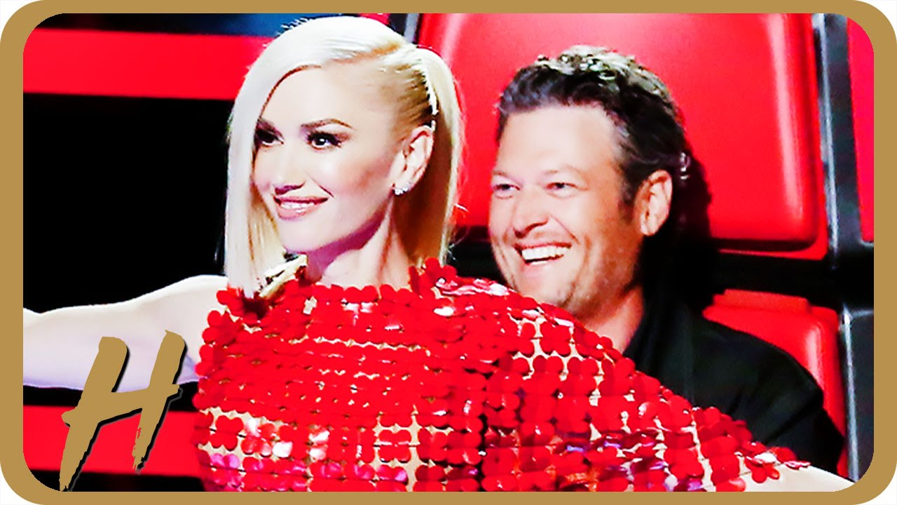 blake and gwen stefani flirting After a contestant performed drake's 'hotline bling' on monday's episode of 'the voice,' blake shelton made gwen stefani blush with his 'booty call' remark.