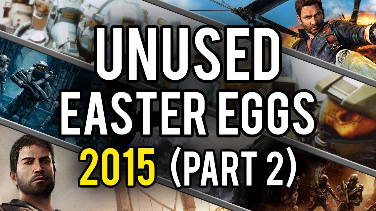 Best Unused Video Game Easter Eggs of 2015 (Part 2) - YouTube