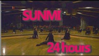 sunmi 선미 24 hours 24시간이 모자라 dance cover by gpk