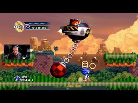 WedgeBob Plays Sonic the Hedgehog 4 Episode 1 Part 3  