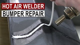 Download Bumper Repair with Hot Air Plastic Welder Mp3 and Videos