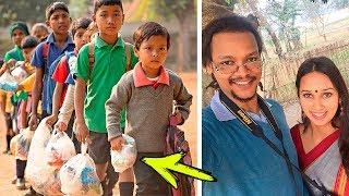 Это просто НЕВЕРОЯТНО! В Индии открыли ШКОЛУ ДЛЯ БЕДНЫХ ДЕТЕЙ, за обучение в которой платят МУСОРОМ!